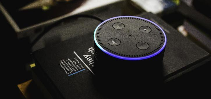 An Amazon Alexa Virtual Assistant.