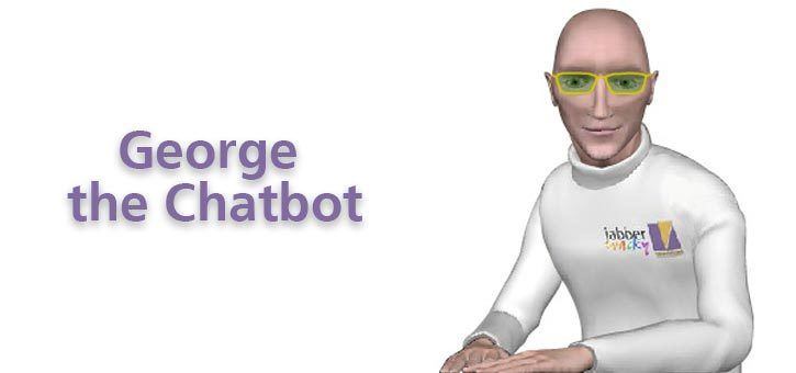 George the Chatbot, part of the Jabberwacky Chatbot family.