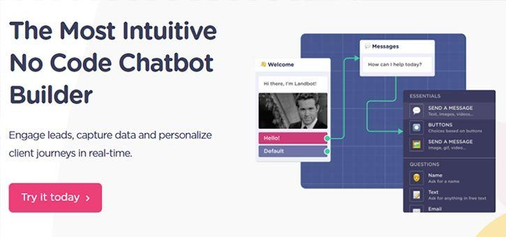 Landbot Chatbot for WordPress - The Best Chatbot for WordPress