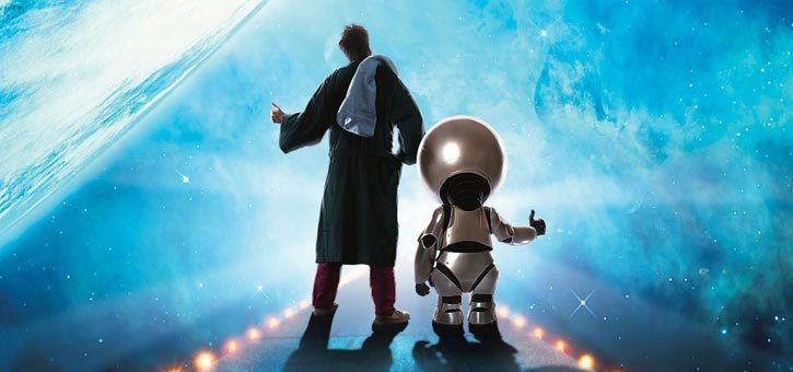 Marvin the Paranoid Android and Arthur Dent