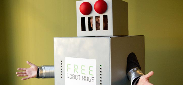 Free Robot Hugs: With an incredible amount of features, MobileMonkey is easily one of the best Marketing Chatbots around.
