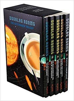 The Hitchhiker's Guide to the Galaxy Complete Book Series