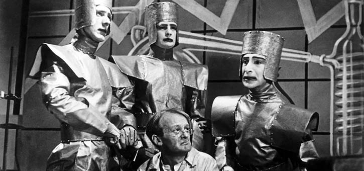 The BBC production of Rossums Universal Robots aired in 1938.