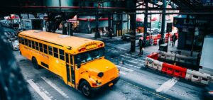 A School Bus in New York.