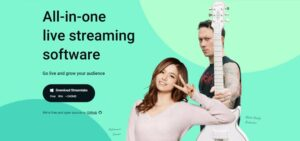 Streamlabs, all in one live streaming software