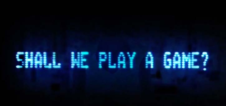 War Games: Shall We Play A Game?