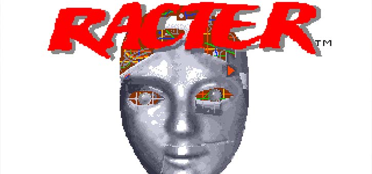 The Racter Chatbot Opening Screen.