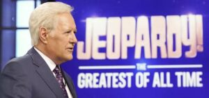 Jeopardy Host Alex Trebek.
