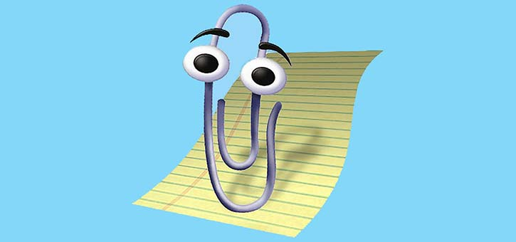 Microsoft Clippy, also known as Clippit and officially called Office Assistant.