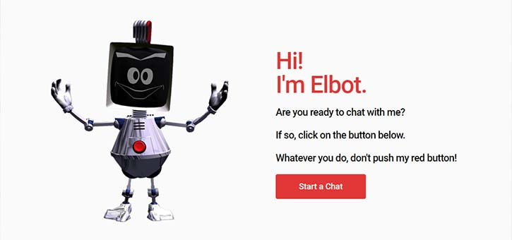 The Elbot Chatbot.
