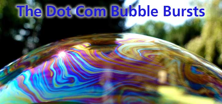 The Dot Com Bubble Bursts
