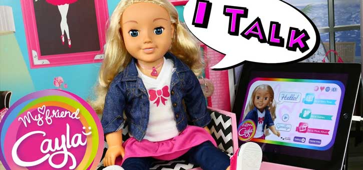 My Friend Cayla was an AI-enabled doll introduced in 2014.